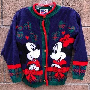 Vintage Jet Set Disney Mickey Knit sweater 10/12